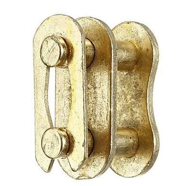 5pcs χρυσό # 420 ενώνει την αλυσίδα κίνησης διαχωρισμός βασιλιάς σύνδεση pit ποδήλατο βρωμιά atv quad