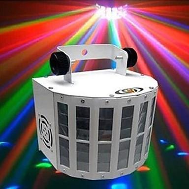 lt-934532 voice activated ελέγχου χρωμάτων RGB οδήγησε προβολέα φωτός λέιζερ στάδιο (220v.1xlaser projetor)