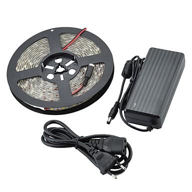 wasserdicht 72w 300-SMD 5050 LED weiß 4000lm 7000K Lichtleiste weiß (dc 12v / 500cm)