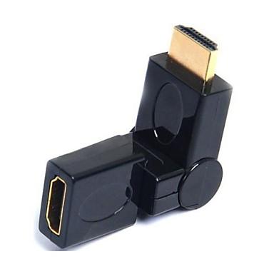kadın coupler dönebilen 360 derece için HDMI portu koruyucu adaptör erkek lwm®