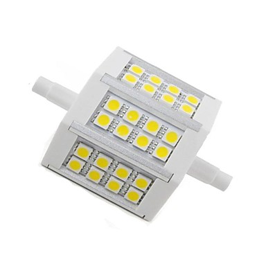 R7S LED-maïslampen 24 leds SMD 5050 Decoratief Warm wit 300lm 2800-3200K AC 85-265V