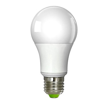 5W E26/E27 Ampoules Globe LED A60(A19) 1 diodes électroluminescentes COB Intensité Réglable Blanc Chaud 380-450lm 3000K AC 100-240V