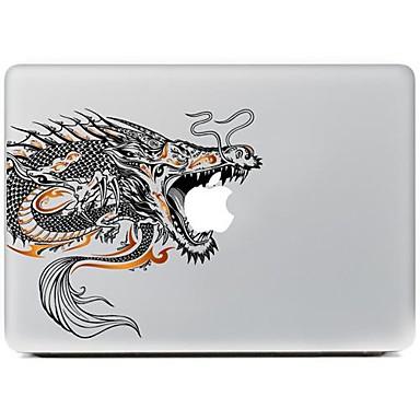 1 Stück Aufkleber für Kratzfest Spaß mit dem Apple Logo Muster MacBook Pro 13 ''