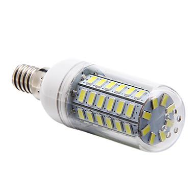 5W E14 LED Mısır Işıklar T 56 led SMD 5730 Doğal Beyaz 450lm 6000-6500K AC 220-240V