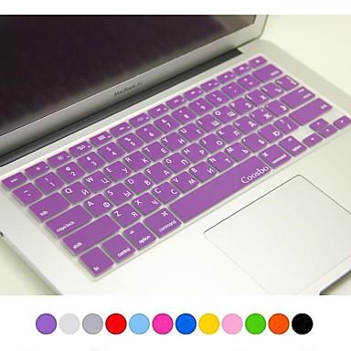 coosbo® Russisch huid van de dekking siliconen toetsenbord voor 13