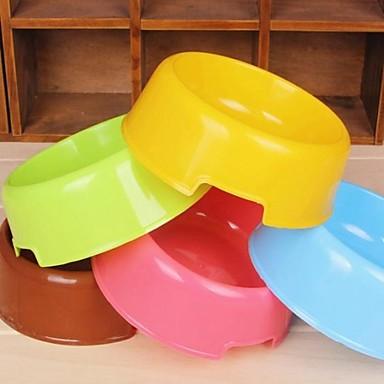 runde Form Schüssel für Hunde (gelegentliche Farbe)