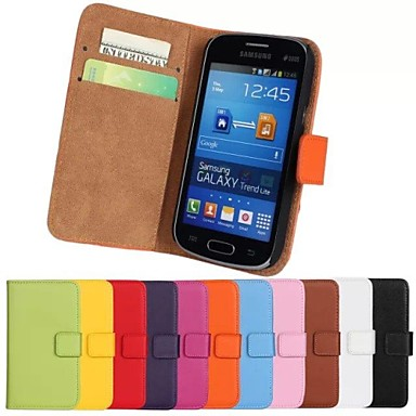 tok Για Samsung Galaxy Samsung Galaxy Θήκη Θήκη καρτών Πορτοφόλι με βάση στήριξης Ανοιγόμενη Πλήρης Θήκη Συμπαγές Χρώμα PU δέρμα για