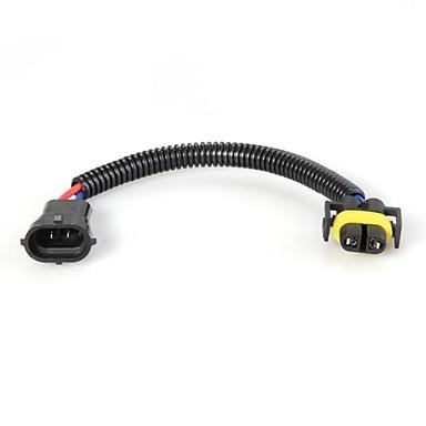 2 buc H9 adaptor cabluri de prelungire prize fasciculului de sârmă pentru a farurilor