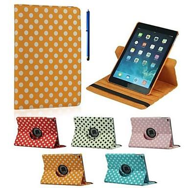Maska Pentru iPad Air 2 Cu Stand Rotație 360 ° Carcasă Telefon Model Geometric PU piele pentru iPad Air 2