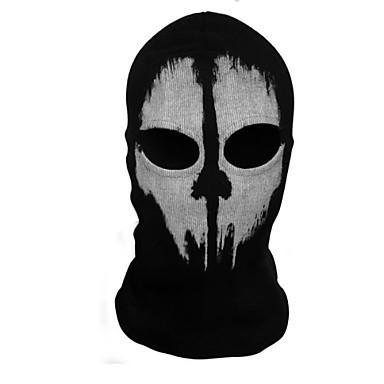 Ceifador Máscara Homens Mulheres Dia Das Bruxas Festival / Celebração Trajes da Noite das Bruxas Estampado