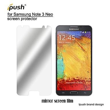 protetor de tela espelho lcd alta transparência com pano de limpeza para samsung galaxy Note3 neo