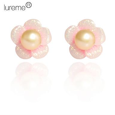 lureme®flower pendientes patrón de perlas