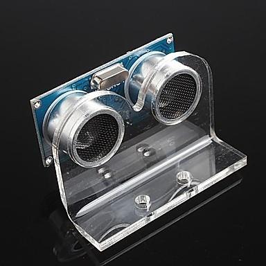 arduino için ultrasonik modül hc-SR04 mesafe ölçüm sensörü dönüştürücü ve braket