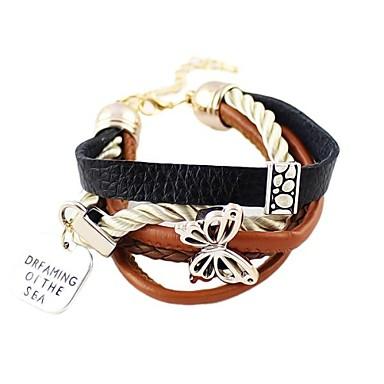 Dames Lederen armbanden Leder Legering Sieraden Voor Dagelijks Causaal