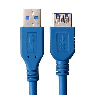 1.5m 4.92ft USB3.0 man naar vrouw verlengkabel