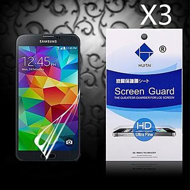 Προστατευτικό οθόνης για Samsung Galaxy S5 PET Προστατευτικό μπροστινής οθόνης Υψηλή Ανάλυση (HD)