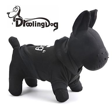Kat Hond Hoodies Hondenkleding Cartoon Dier Zwart Kostuum Voor huisdieren