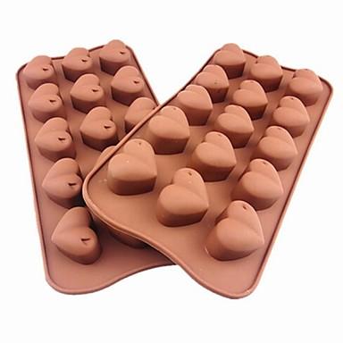 Bakeware araçları Silikon Çevre-dostu / Kendin-Yap Kek / Tart / Çikolota Pişirme Kalıp 1pc