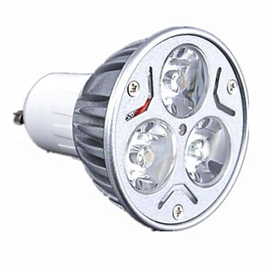 1 buc 3 W Spoturi LED 0-250lm GU10 GU5.3 E26 / E27 3 LED-uri de margele LED Putere Mare Intensitate Luminoasă Reglabilă Alb Cald Alb Rece Alb Natural 220-240 V 110-130 V / RoHs