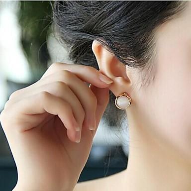 Σκουλαρίκι Κουμπωτά Σκουλαρίκια Κοσμήματα Πάρτι / Καθημερινά / Causal Κράμα / Ακρυλικό