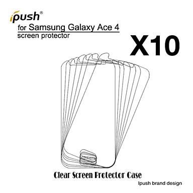 protetor de alta transparência hd lcd tela para Samsung Galaxy Ace 4 g313h (10 peças)