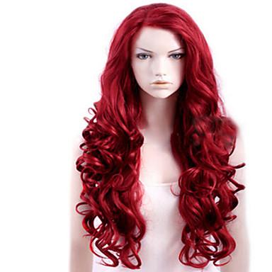 Femei Peruci Sintetice Lung Partea laterală Caruciorul Peruca Halloween Wig costum Peruci