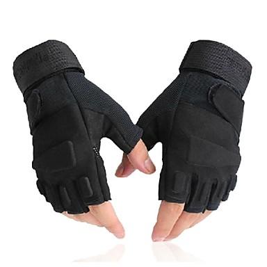 Sporthandschuhe Fahrradhandschuhe UV-resistant Atmungsaktiv Wasserdicht Anti-Rutsch Taktisch Schützend Fingerlos Lycra Radsport / Fahhrad