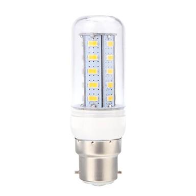 B22 LED-maïslampen 36 leds SMD 5730 Warm wit 400lm 3000K AC 220-240V