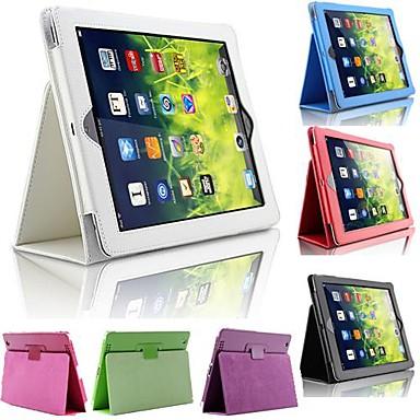 tok Για iPad Air με βάση στήριξης Πλήρης Θήκη Μονόχρωμο PU δέρμα για iPad Air