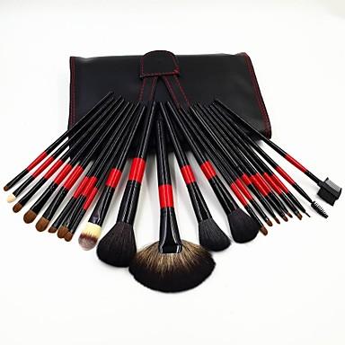 22 Brush Sets Kwast van nertshaar / Synthetisch haar / Kwast van ponyhaar / Kwast van geitenhaar Gezicht / Lip / Oog Overige
