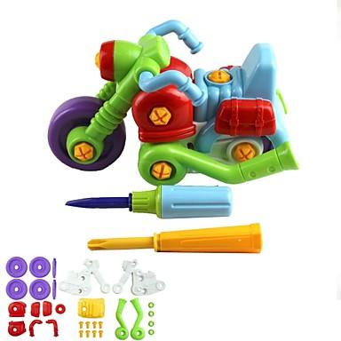 Kinder 35-teilige Montage Motorrad Spielzeug