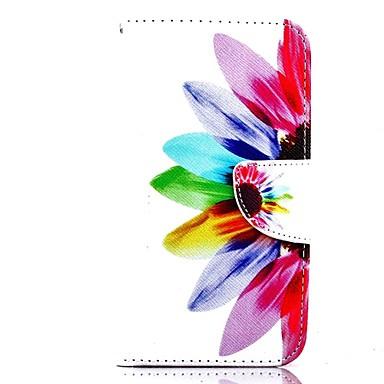 tok Για Motorola Θήκη Motorola Θήκη καρτών Πορτοφόλι με βάση στήριξης Ανοιγόμενη Πλήρης Θήκη Λουλούδι Σκληρή PU δέρμα για