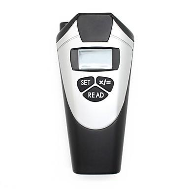 hand gehouden lcd digitale ultrasone laser afstandsmeter (0.5 ~ 18m, + / - 1 cm)