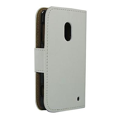 tok Για Nokia Lumia 620 Nokia Θήκη Nokia Θήκη καρτών Πορτοφόλι με βάση στήριξης Πλήρης Θήκη Συμπαγές Χρώμα Σκληρή PU δέρμα για