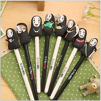 Kugelschreiber Stift Gelstifte Stift, Silikon Kunststoff Schwarz Tintenfarben For Schulzubehör Bürobedarf Packung