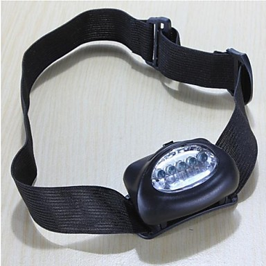 LS126 Headlamps Headlight LED - 5 Emitters Waterproof Emergency Small Size Camping / Hiking / Caving Everyday Use Cycling / Bike