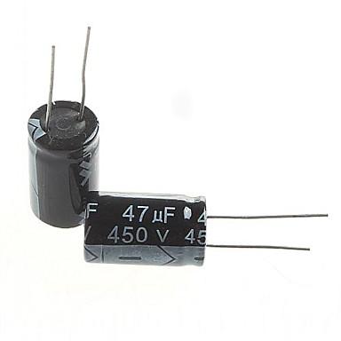elektrolitik kapasitör 47uF 450V (5 adet)
