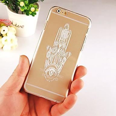 Για Θήκη iPhone 6 Θήκη iPhone 6 Plus Θήκες Καλύμματα Διαφανής Πίσω Κάλυμμα tok Πλακίδια Σκληρή PC γιαiPhone 6s Plus iPhone 6 Plus iPhone