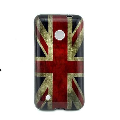 Για Θήκη Nokia Με σχέδια tok Πίσω Κάλυμμα tok Σημαία Μαλακή TPU Nokia Nokia Lumia 530