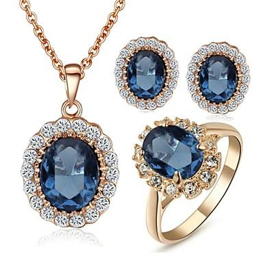 Κοσμήματα-Κολιέ / Cercei / Δακτυλίδια(Κρύσταλλο)Γάμου / Πάρτι / Causal Δώρα Γάμου