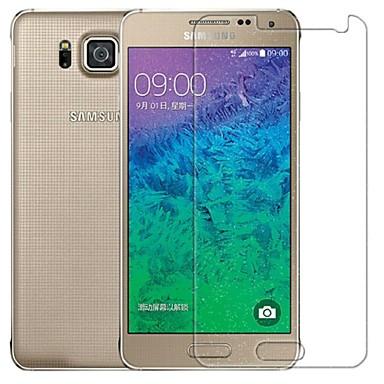 Ekran Koruyucu için Samsung Galaxy Temperli Cam Ön Ekran Koruyucu Yüksek Tanımlama (HD)