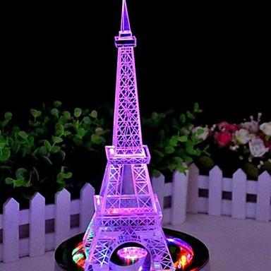 kleur veranderende ijzeren toren geleid nachtlampje lamp