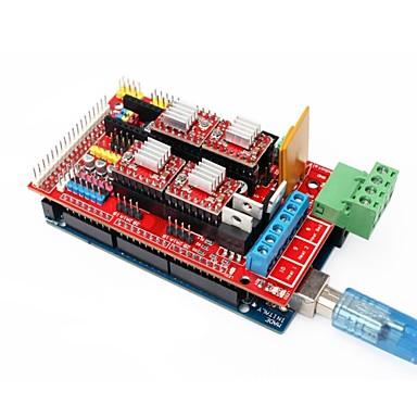 3D εκτυπωτή Mega 2560 R3 + ράμπες 1.4 επεκτείνει ασπίδα σετ οδηγός + 4988 stepper