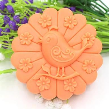 flor animal ferramentas bolo fondant de chocolate em forma de silicone bolo molde decoração, l10.1cm * * w10.1cm h3.9cm