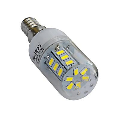 4W E14 LED-maïslampen T 24 SMD 5730 320-360lm lm Warm wit / Koel wit AC 220-240 V