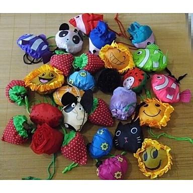 meyve çiçek modelleme hayvan katlama alışveriş çantası
