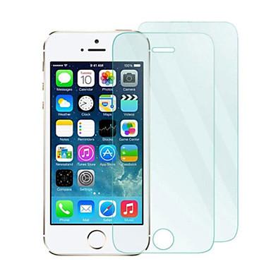 Protecteur d'écran Apple pour iPhone 6s Plus iPhone 6 Plus iPhone SE/5s Verre Trempé 2 pièces Ecran de Protection Avant Antidéflagrant