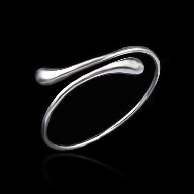 Dames Verzilverd Armbanden met ketting en sluiting - Armbanden Voor Bruiloft Feest Dagelijks Causaal