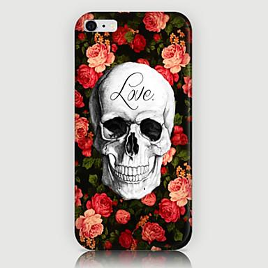 iPhone 6 Plus - Achterkantje - Grafisch/Speciaal ontwerp/Noviteit/Bloem (Meerkleurig , Kunststof)