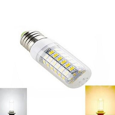 5W E26/E27 LED-maïslampen T 69 leds SMD 5730 Warm wit Koel wit 450lm 2800-3500/6000-6500K AC 220-240V